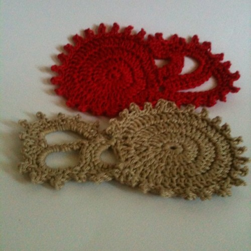#crochet #cotton #coasters