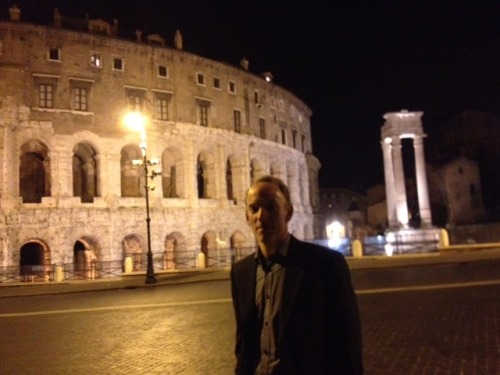 Coliseum - Walking Rome after midnight with the media measurement geeks at ICOM