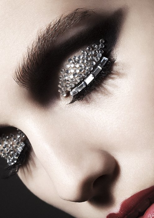 Extra studded eye, I'm thinking this would hurt to wear around.