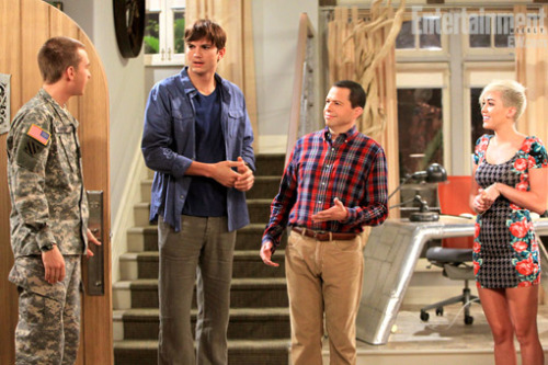 Foto do 2º episodio de Miley On Two And Half Men