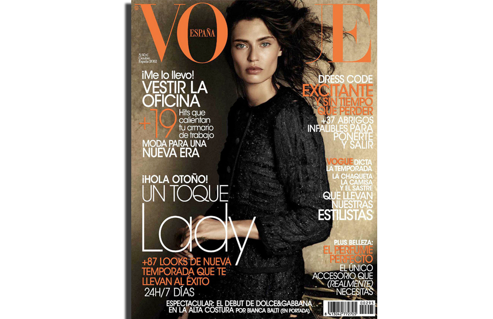 Vogue Spain | Giampaolo Sgura | Ana Tovar | Bianca Balti | Oct. 2012