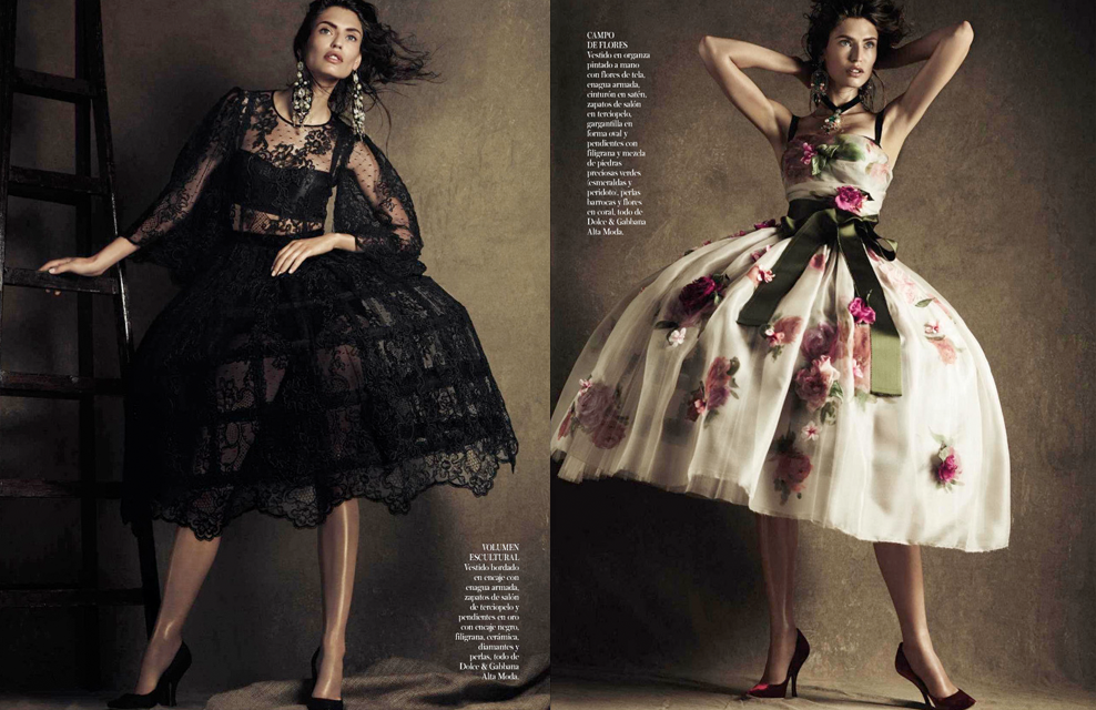 Vogue Spain | Giampaolo Sgura  | Ana Tovar |  Bianca Balti/IMG | Oct. 2012