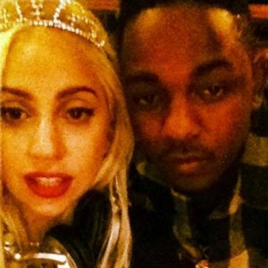 K Dot & Lady Gaga