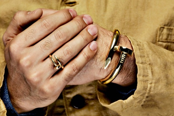 Juste Un Clou (meaning 'Just a Nail'), Cartier's latest collection of rings and bracelets  Mum keeps asking me what I REALLY want for my 25th birthday, this would hit the nail right on the head don't you think? (via Trendland)