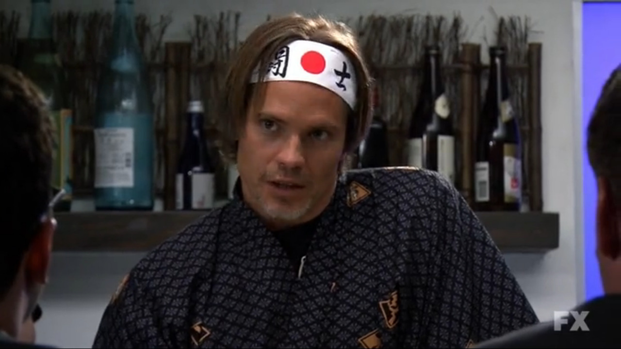Timothy Olyphant in The League haha.