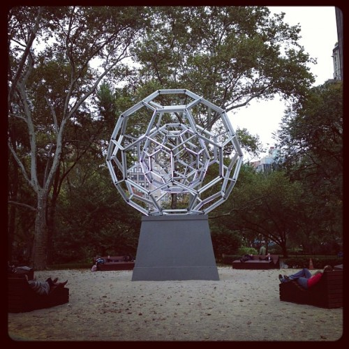 What to do before #sandy arrives…? #nyc #madisonsquarepark