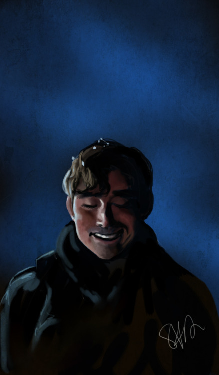speed paint of Lee Pace. He's so adorable. :B ref from Pushing Daisies