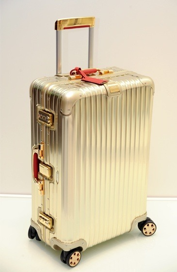 Rimowa -Topas Gold - The Bentley of Suitcases! #Luxury #Items