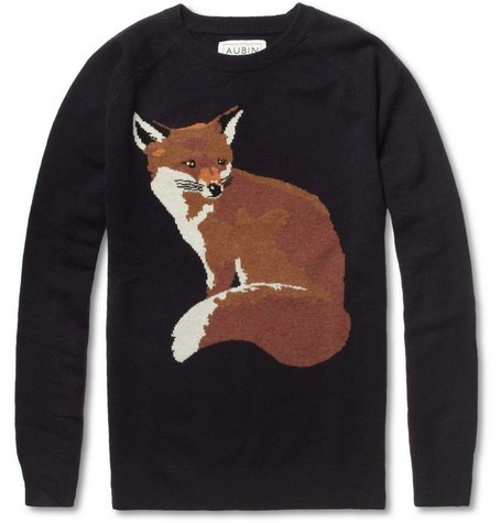 Aubin & Wills fox sweater