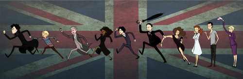 sherlockfangams:  The Sherlock chase by ~Mxi665