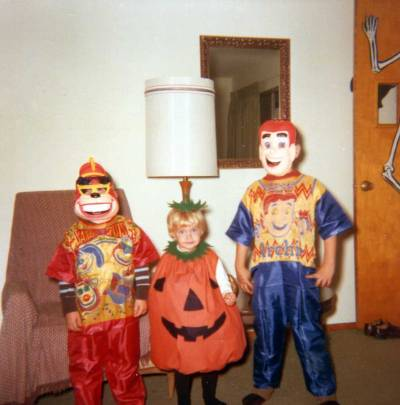 hollyhocksandtulips:  Halloween, 1969
