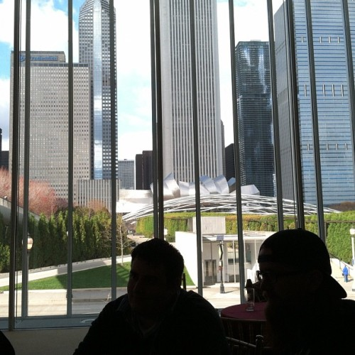 hashtag, work life. @dlcervan @cangeceiro (at The Art Institute of Chicago)