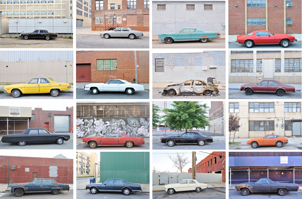 Typology of urban cars. Photography by Douglas Ljungkvist.