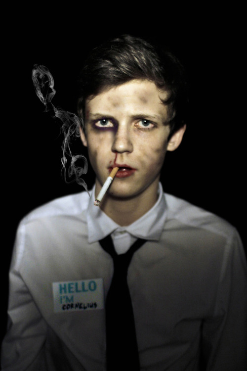 "theartmachine:  Happy Halloween. I am 'The Narrator"" from Fight Club (Edward Norton)"