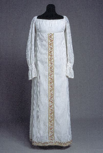 Dress ca. 1820's From Kulturen
