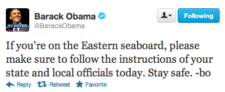 barackobama:  Take care out there, everybody.