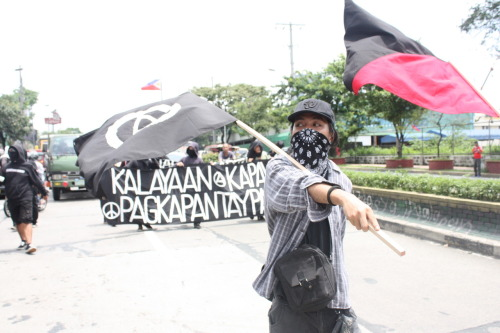 Anarchist Protest in the Philippines