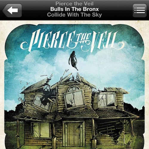 Currently listening: @piercetheveilofficial Bulls In The Bronx #ptv #piercetheveil #collidewiththeskytour #collidewiththesky #love #songoftheday #vic #jaime #tony #mike #instamusic #music #punkrock #instagood #instamood #instalife