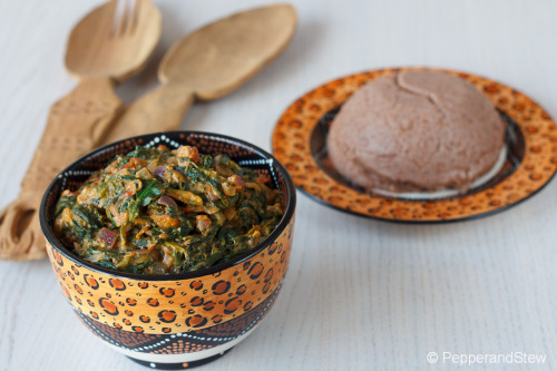 Peanut Butter Spinach and Sadza made with Ground Sorghum Receipe: http://www.pepperandstew.co.uk/2012/10/04/peanut-butter-spinach-and-sadza-made-with-ground-sorghum/