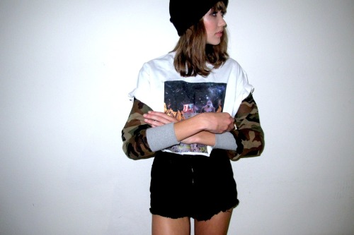 Our girl Lily Dale rockin' one of our OGs, Scope's Trial in White. Email us at chemistreeproduce@gmail.com for personal orders.