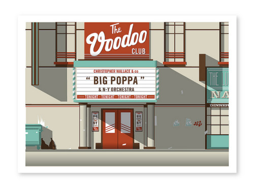 "visualgraphic:  The Voodoo Club ""Big Poppa"""