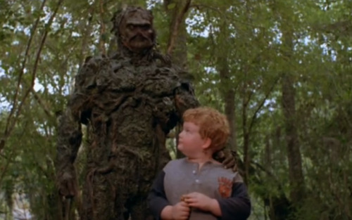 The Swamp Thing television series lasted for three seasons. Kind of incredible if you think about it; I don't think he ever left the swamp.