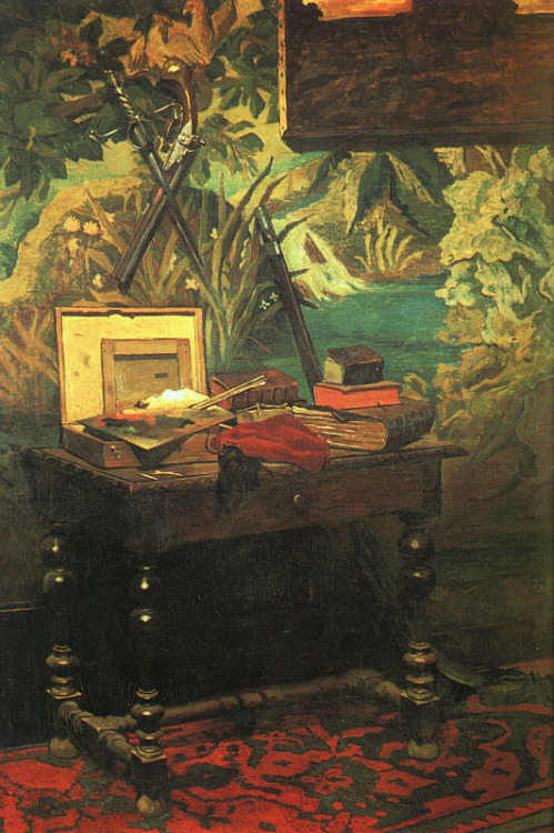 Claude Monet   A Corner of the Studio, 1861