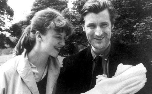 Ted Hughes,  Sylvia Plath's husband, rarely wrote about her suicide.  But thirty-five years after she  died and only months before his own death, Hughes published a poetry collection entitled Birthday Letters, which consisted of eighty-eight poems describing their relationship and his response to her death.  There had been much controversy surrounding their relationship, as some critics argued Hughes was a controlling man who destroyed  several of Plath's works in the years after her death. Some even went so far as to claim that he had committed numerous infidelities with other women during his marriage to Plath. But for all the arguments and criticism, Ted Hughes's  only recently-published poem, Last Letter, serves as a reminder to all that the two did love each other.  Although not published in Birthday Letters, the poem describes the exact moment in which Hughes learned of his wife's death. Depicted in chilling yet simple lines, Last Letters is the story of a man lost, a husband yearning for his dead wife. A man whose heart had been ripped from his chest.    Late afternoon Friday my last sight of you alive burning your letter to me in the ashtray with that strange smile… And I had started to write when the telephone Jerked awake, in a jabbering alarm, Remembering everything. It recovered in my hand. Then a voice like a selected weapon Or a measured injection, Coolly delivered its four words Deep into my ear: Your wife is dead. -Ted Hughes