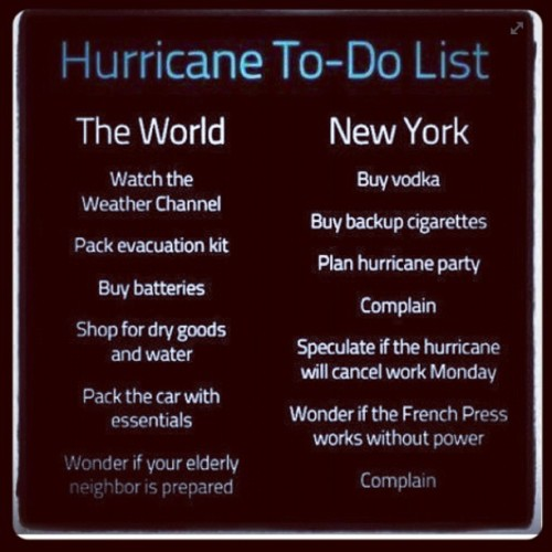 #nyc#hurricane#sandy#mm (at shefinds.com)