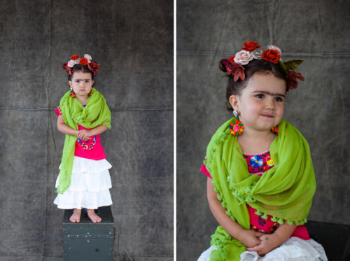 little Frida Kahlo costume