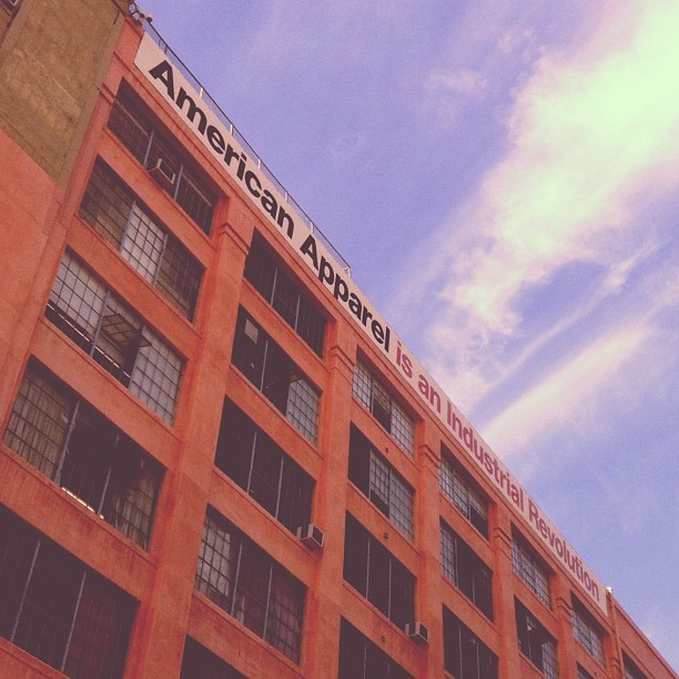 AMURICA 🇺🇸 #americanapparel #LA #factory #warehouse  (at American Apparel)