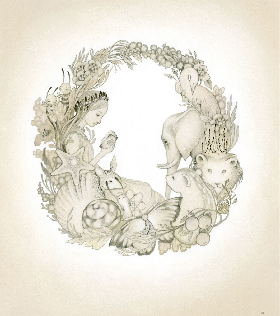 Wreath by Amy Sol