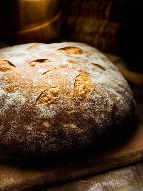 elorablue:  Bread: Sourdough Boule by matthew_lowery on Flickr.