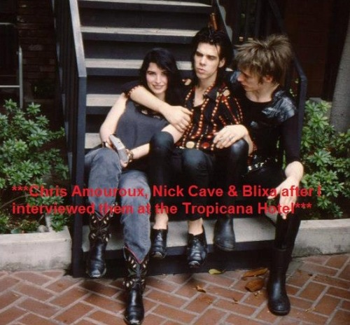 "frankieteardrop:  lilacea:  ""I interviewed them in the 80's, Nick answered the door nude with a sheet wrapped around him.""  but WHy dOUWLD YOU DSyAI HTIS NO NICk CBLIXA  LOOK AT THEMM GOD this is too much in one day TOO MUCH OKgyh"