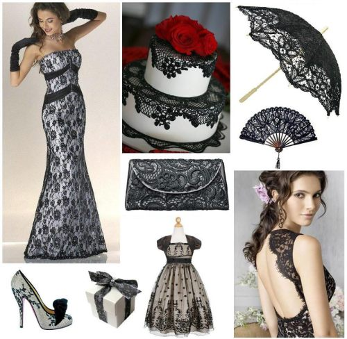 Black Lace Inspiration