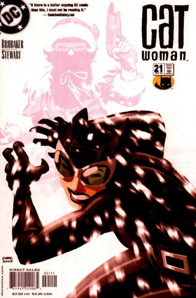 Catwoman v3 #21, September 2003, written by Ed Brubaker, penciled by Cameron Stewart