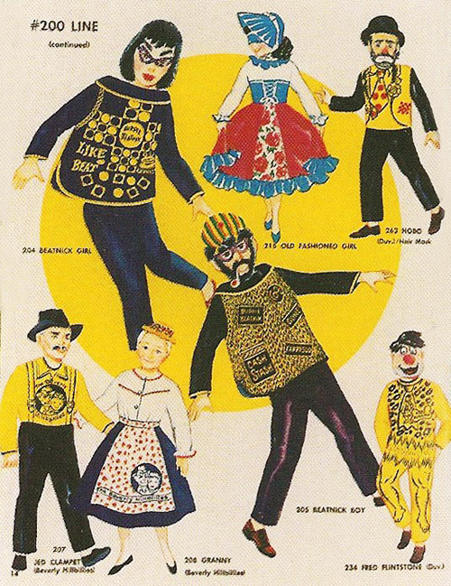 gravesandghouls:  Collegeville Costumes Catalog, 1961