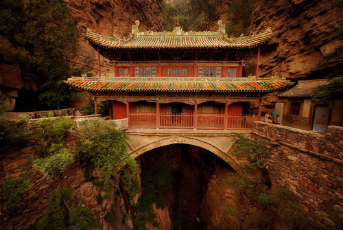 bluepueblo:  Canyon Palace, Cangyan, China photo via toexplore