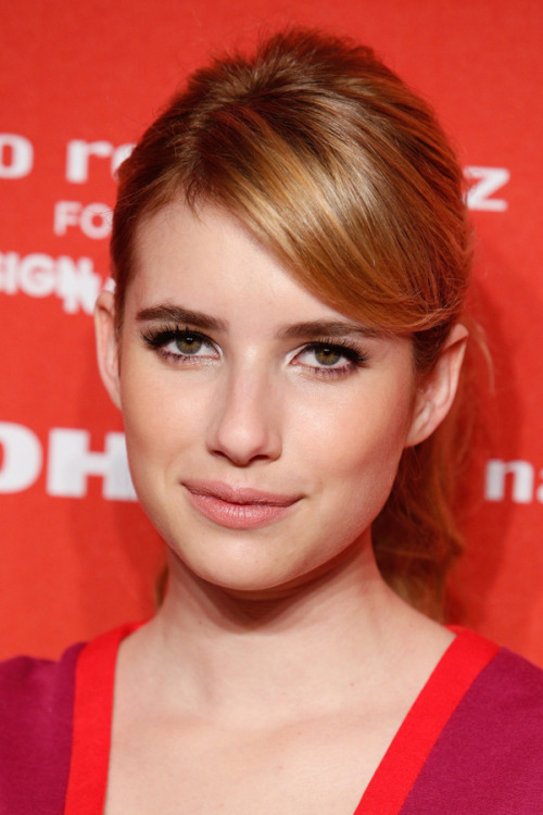 Growing out your bangs? Get hair inspiration from stars who looked red-carpet ready while sweeping their fringe to the side. See more celeb-approved 'dos here »