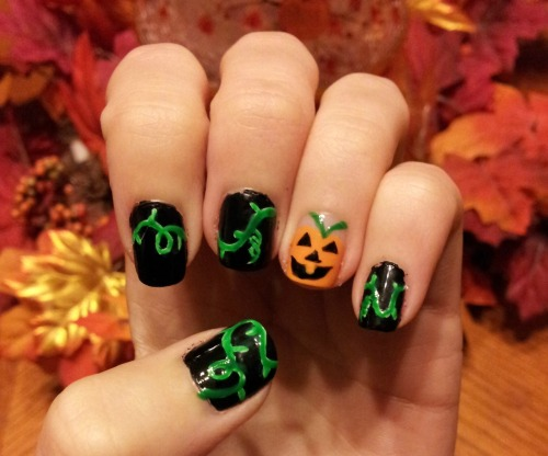 Pumpkin Nails!