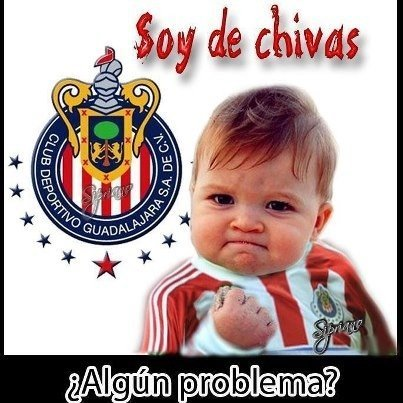 sandracullen:  Oh yeah! Problem???? #guadalajara #chivas #futbol #mexico #love #funny #Popular (from @SandraCullen on Streamzoo)