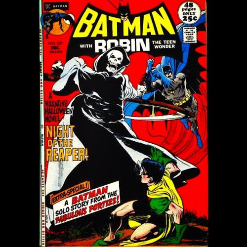 #Batman with #Robin The Teen Wonder! #237 versus The #GrimReaper. A #Haunted #Halloween #Novel! The #Night of the #Reaper! #Horror #DC #Comics #tdkr #darkknight