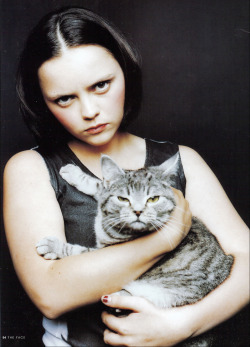bohemea:  Christina Ricci - The Face, October 1998