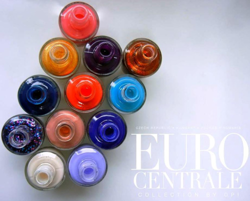 New OPI Euro Centrale Spring 2013 Collection!