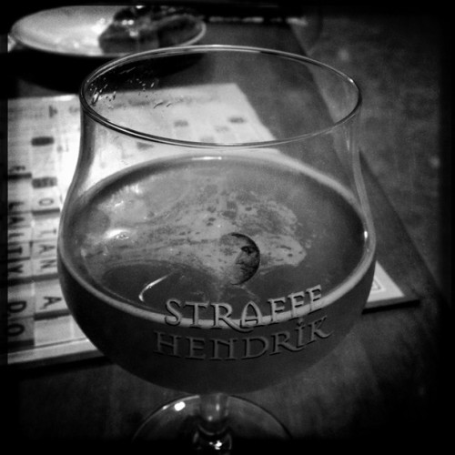 Smartmouth Alter Ego in my Straffe Hendrik glass. #Hipstamatic #JohnS #RockBW11