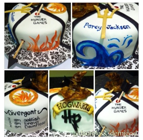 The Hunger Games Birthday Cake