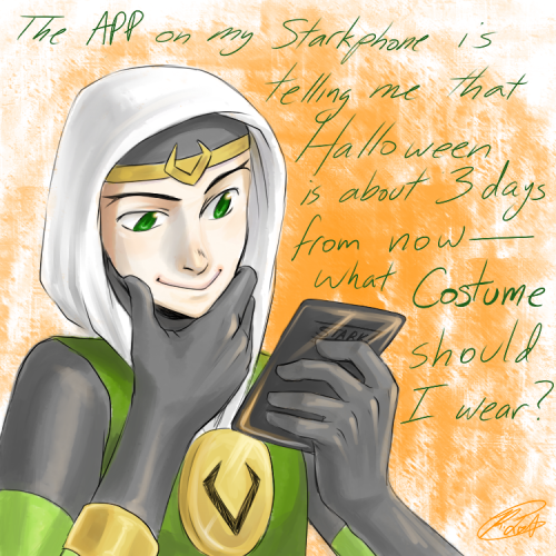 ask-kid-loki:  Would anyone care to make suggestions?  Reblogging my ask blog again so people can see