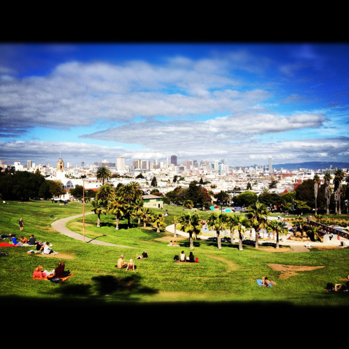 Delores Park. Mission. SF.