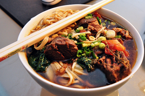 taiwans:  Taiwanese Beef Noodle Soup (牛肉麵) by IronChefJPN