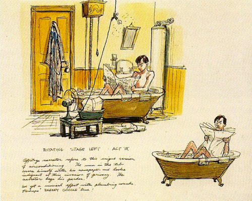 Marc Davis concept art for the Carousel of Progress